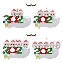 1 шт. Подвес кулон Рождество мода орнамент многоцелевой индивидуальный дни рождения вечеринка украшение смола подарок украшение