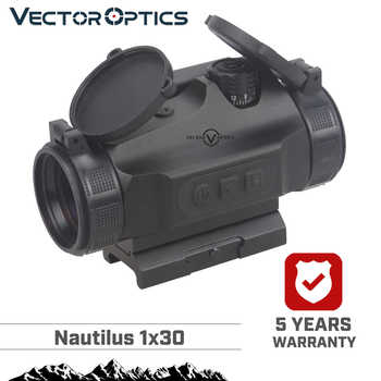 Vector Optics Hunting 1x30 Reflex Red Dot Sight Scope 3 MOA Auto Brightness Dot fit AK47 AR15 9mm Laru Picatinny Weaver Rail - DISCOUNT ITEM  0% OFF All Category