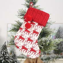christmas new year decorations for home stockings stocking socks gift bags holder xmas xmasCM