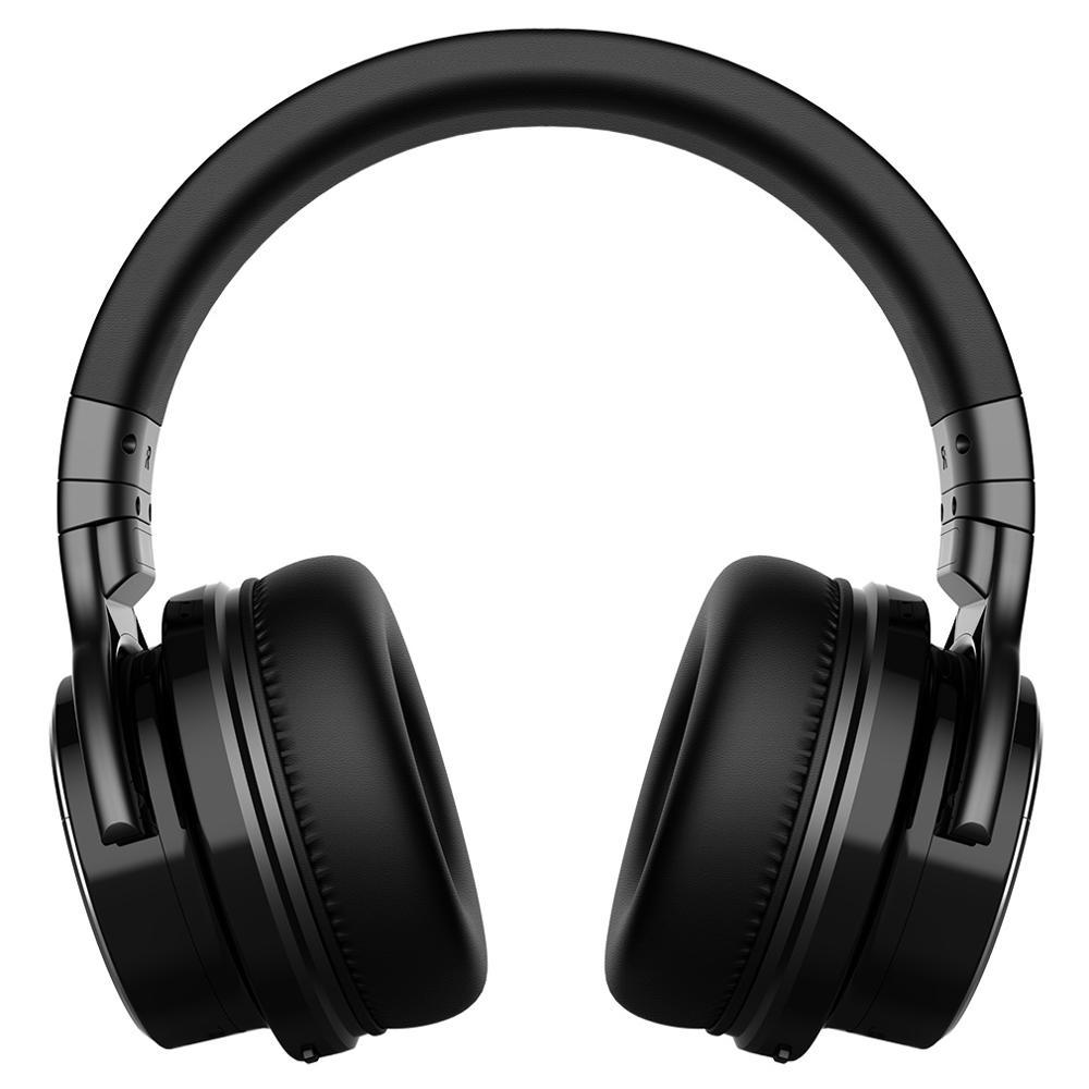 Cowin e7 pro [atualizado] cancelamento de ruído ativo fones de ouvido bluetooth fones de ouvido com microfone graves profundos sem fio fones sobre a orelha