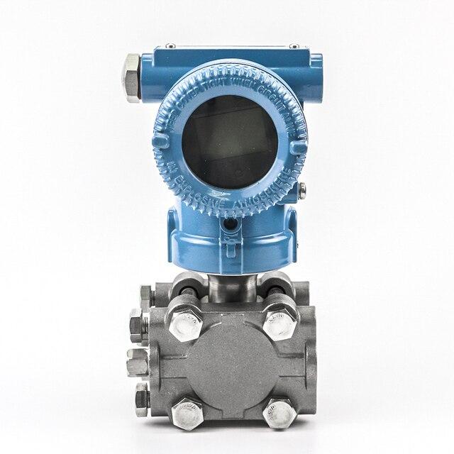 Transdutor eletrônico 0-50bar da pressão do diferencial do expositor 4-20ma do lcd do contato do oem
