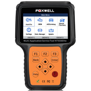 Image 5 - FOXWELL NT650 엘리트 OBD2 자동차 스캐너 지원 ABS 에어백 SAS EPB DPF 오일 서비스 재설정