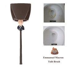 Toilet Brush Holders Emmanuel Macron (Borstel Donald Trump) Pattern Home Bathroom Cleaning Tools
