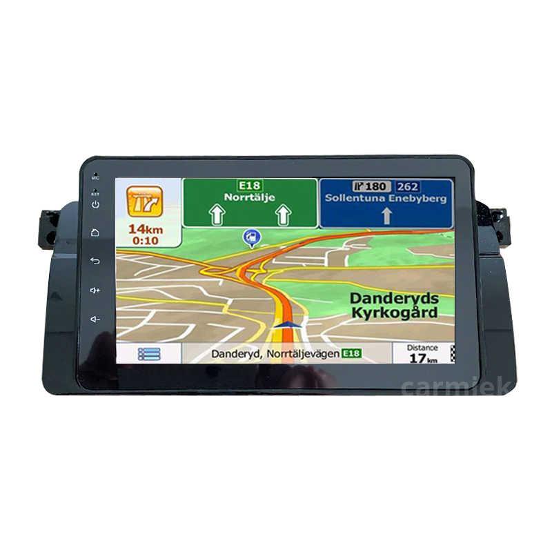 Máy Nghe Nhạc Đa Phương Tiện Android Đài Phát Thanh GPS NAVI Cho Xe BMW E46 M3 Rover 75 Coupe Điều Hướng DVD Radio 318/ 320/325/330 Thiết Bị Dẫn Đường