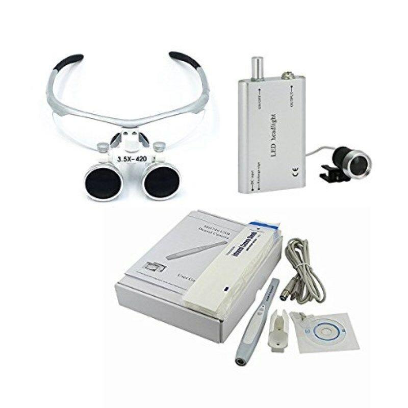 camera intraoral dental desligamento automatico md740 3 5x lupas binoculares farol led