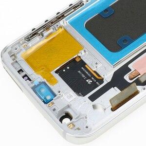 Image 5 - Haute qualité ORIGINAL 5.1 LCD remplacement pour SAMSUNG Galaxy S7 affichage G930 G930F écran tactile numériseur assemblée avec cadre