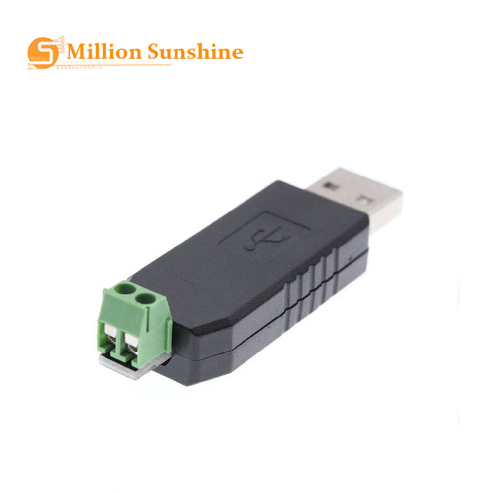 Smart Electronics USB To RS485 Converter Adapter Support Win7 XP Vista Linux Mac OS WinCE5.0 RS 485 RS-485 For Arduino