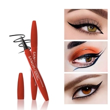 Waterproof Liquid Eyeliner Black Makeup Smudge-proof Long-lasting Quick Drying Eye Liner