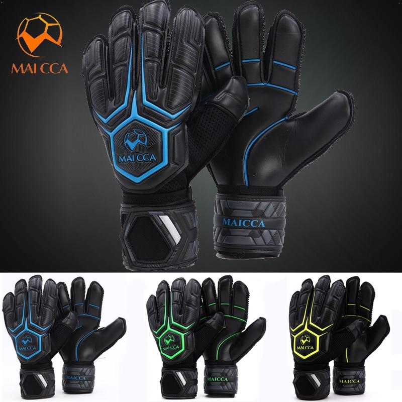 Professional Goalkeeper Gloves Cheap Roll Finger Football Palm Soft Latex Soccer Goalie Gloves With Finger Protection