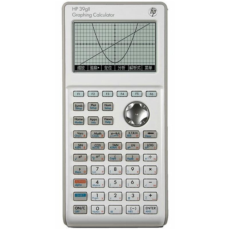 HP39GII графический калькулятор ученик средней школы математическая химия SAT/AP ЕГЭ научный калькулятор детский научный