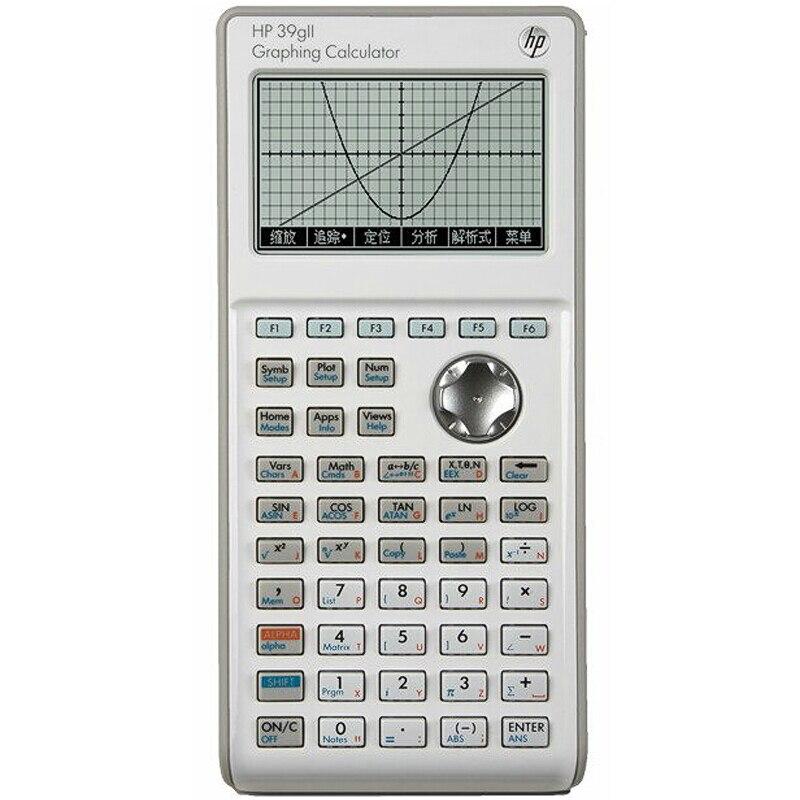 HP39GII グラフ電卓中学生数学化学土/AP 試験電卓子供科学