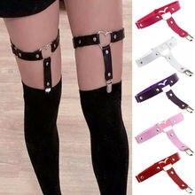 Garter Belt  Sexy Women Lady Adjustable Heart Shape Thigh Leg Stockings Suspender Club Garter Belt