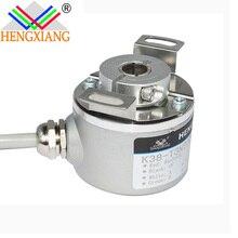 Hengxiang hollow encoder K38 Through Hollow Shaft Sleeve Encoder Distance Measuring Sensor 755A-14-1024-R-HV стоимость