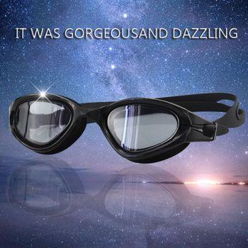 Okulary pływackie ochrona UV gogle pływackie basen okulary pływackie z walizką wodne gogle pływackie dla mężczyzn kobiety Anti Fog tanie i dobre opinie Pływać
