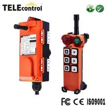 F21-E1 6 canais 1 velocidade 3 eixo grua guindaste de rádio sem fio controle remoto industrial com receptor e transmissor