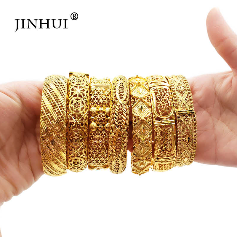 צמיד זהב צמידי אהבת נשים אביזרי הכלה חתונה צמידי הודי/האתיופית/צרפת/אפריקה/תכשיטי דובאי מתנות