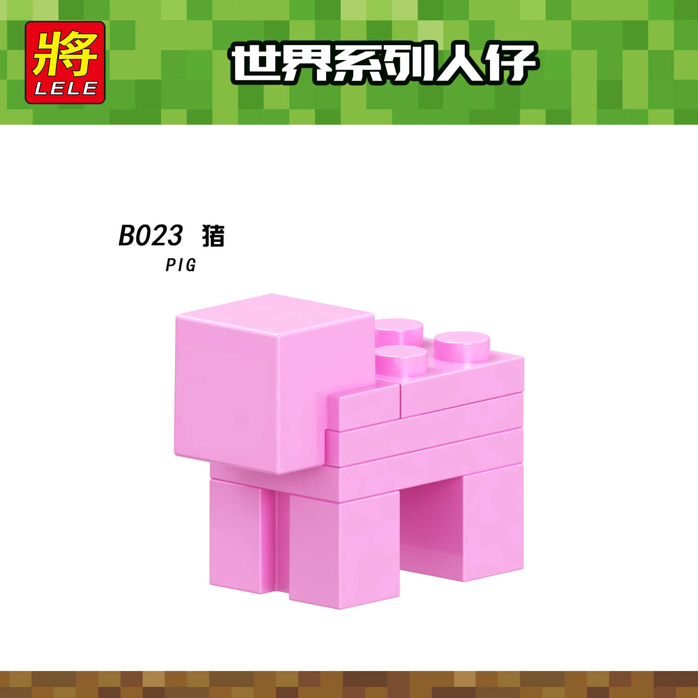Meu mundo blocos de construção compatível legoingly legoings figuras zumbis blocos brinquedos educativos para crianças micro bloco