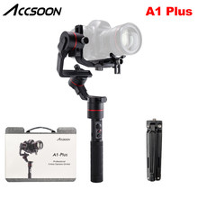 Accsoon A1 Plus 3-Axis Handheld Gimbal Stabilizer 3.6Kg Laadvermogen Volledige Visuele zonder Cover for a Mirrorless/DSLR camera