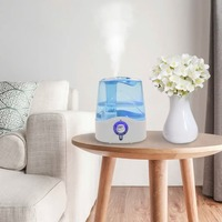 VidaXL Electric Aroma Air Diffuser With Fog & Lamp Ultrasonic Air Humidifier Essential Oil Aromatherapy Cool Mist Maker For Home