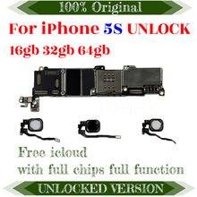 ICloud-placa base con Chips completos para IPHONE 5S, 16GB, 32GB, 64GB, Sistema IOS, 4G, Lte, Gsm, Wcdma