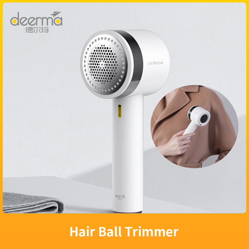 Xiaomi Youpin Deerma Portable Lint Remover Wireless Hair Ball Trimmer for Sweater Clothing 7000rmin Motor Fuzz Shavers