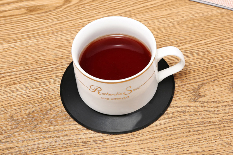 Vinyl Record Table Mats Drink Coaster Table Placemats Creative Coffee Mug Cup Coasters 2 4 6 PCS Heat-resistant Nonslip Pads 8