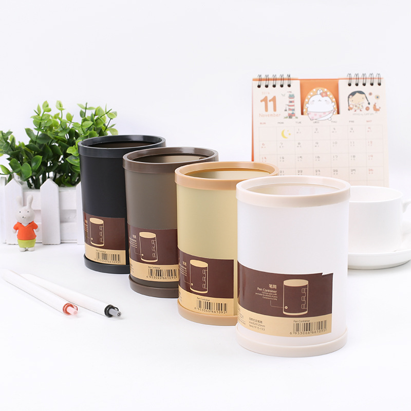Pencil Holder Organizer Detachable Round Creative Multi-function Desktop Pen Holder Japanese Pen Holder Pot Crayon Pen Holder