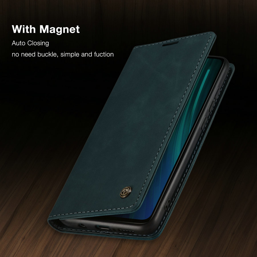 Phone <font><b>Case</b></font> For <font><b>Xiaomi</b></font> <font><b>Mi</b></font> 9 9T K20 Pro Note <font><b>8</b></font> Retro <font><b>Magnet</b></font> Wallet Leather <font><b>Case</b></font> Luxury Flip Protective Cover For Redmi Note <font><b>8</b></font> Pro image