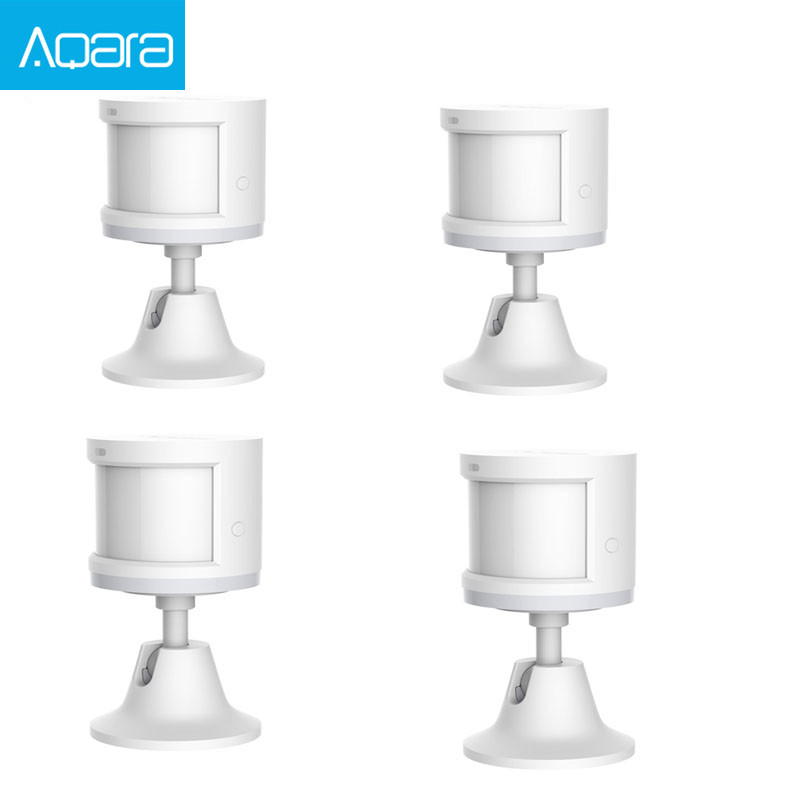 Original Aqara Body Sensor  amp  Light Intensity Sensors ZigBee wifi Wireless Work for smart home APP