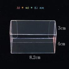 Boîtes à cadeaux en PVC Transparent, présentoir Transparent, boîtes à bonbons pour dragées de mariage, emballage de gâteaux macarons, boîte en plastique