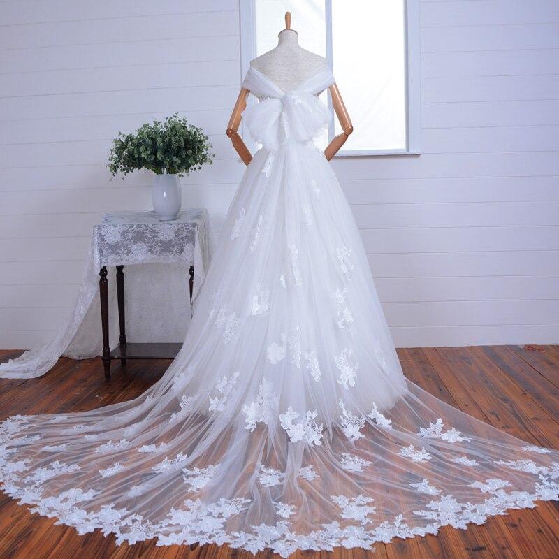 Beading Sexy Boat Neck A-line Bridal Gown Vestido De Novia 2018 Hot Lace Appliques Cap Sleeve Bow Mother Of The Bride Dresses