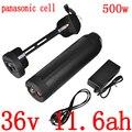 36V 250W 350W 500W ebike batterie 36V vélo électrique battery36V 11.6AH 12AH 14.5AH 15AH 18AH batterie au lithium utilisation panasonic cellule