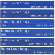 12 conjuntos nanoweb cordas da guitarra acústica 11027 11002 11052 16002 16027 16052 cordas da guitarra elétrica 12052 12002 12077 para a guitarra