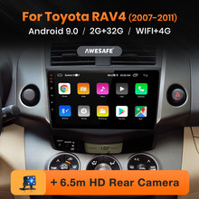 Awesafe PX9 Voor Toyota RAV4 Rav 4 2005-2013 Auto Radio Multimedia Video Player Gps Geen 2 Din Android 9.0 2 Gb + 32 Gb(China)