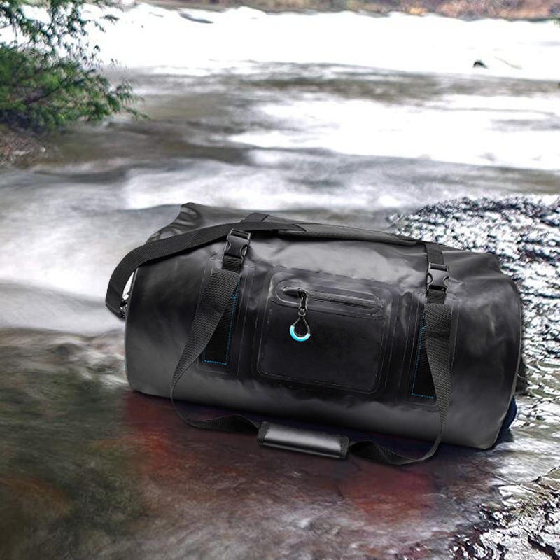 Waterproof Duffle Dry Bags 20L 50L 70L 120L With A Tighter Roll-down Top Pocket For Kayaking Camping Boating Bicycle Motorcycle