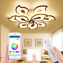 Remote control APP living room bedroom LED ceiling lamp acrylic new modern led pendant lamp factory direct home pendant lamp