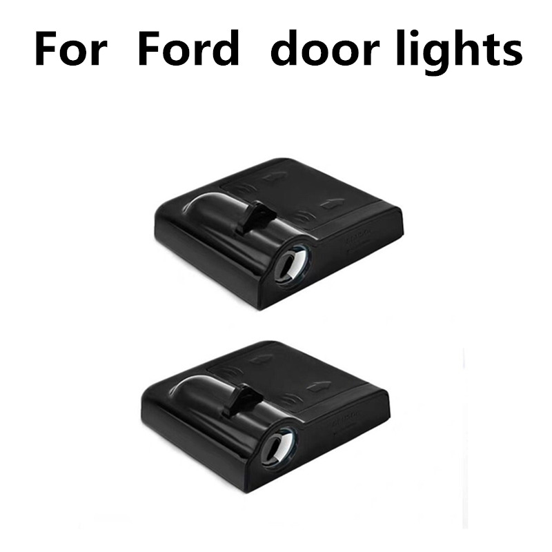 LED Door Logo Warning Light For Ford F.ocus 2 3 1 Fiesta Mondeo 4 3 Transit Fusion Kuga Ranger Mustang S-max Galaxy C-max Escape