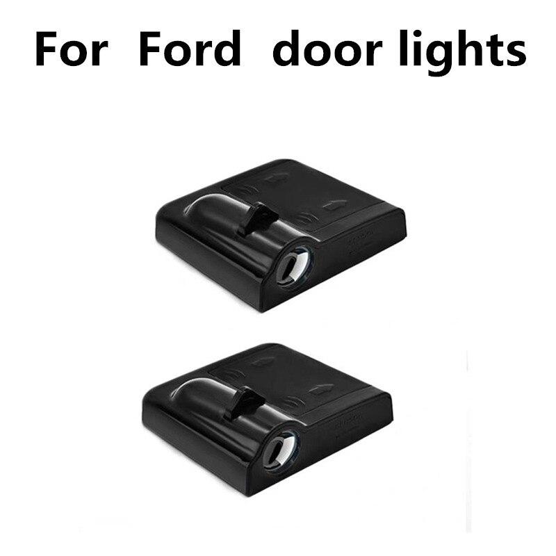 >LED Door Logo Warning Light For Ford F.ocus 2 <font><b>3</b></font> 1 Fiesta Mondeo 4 <font><b>3</b></font> <font><b>Transit</b></font> <font><b>Fusion</b></font> Kuga Ranger Mustang S-max Galaxy C-max Escape