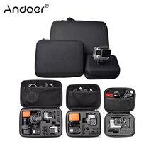 Andoer Портативный чехол для экшн камеры, защитный чехол, чехол для спортивной камеры GoPro Hero, аксессуар, Противоударная сумка для хранения