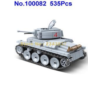 Image 3 - 535 個ww2 軍事lt 38 ドイツライトタンク兵士の武器世界戦争ii武器 2 ビルディングブロックのおもちゃ