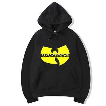 Wu Tang Clan Mens Hoodie Tracksuit Sweat Coat Casual Sportswear Hoodies 2020 Male Hip Hop Long Sleeve Wu Tang Hooded Sweatshirt