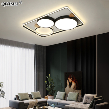 Modern Ceiling Lights LED Lamp For Living Room Dining Bedroom Surface Mounted Indoor Lighting Fixture Dimmable Lustre AC85-260V tiffany ceiling lights led lamp for living room bedroom study room home deco ac85 265v modern white surface mounted ceiling lamp