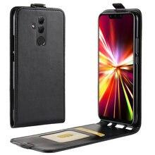 Voor Huawei Mate 20 Lite Case Flip Pu Leer Siliconen Up En Down Hit Colorfull Case Voor Huawei Mate 20 lite Mate20 Lite Cover