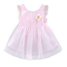 Baby Girls Cute Dress Toddler Kids Floral Wing Sleeveless Princess Dress Summer Infant Baby Tulle Party Dresses Clothes #LR3 summer baby girls dress infant floral bow sleeveless toddler girls birthday party dresses baby clothing vestido infantil