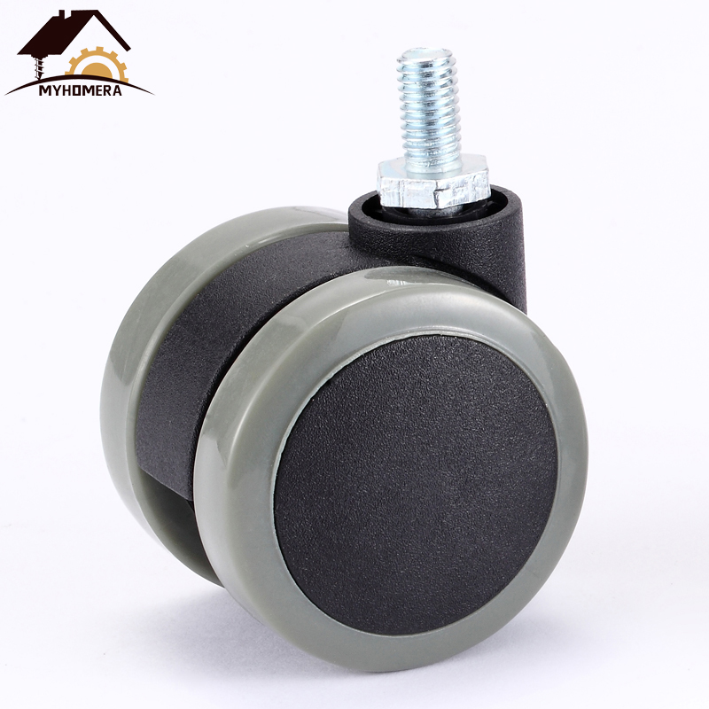 Myhomera 1-2 Piece Furniture Wheel Caster 2