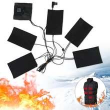 1 комплект usb электрическая куртка с подогревом грелки для