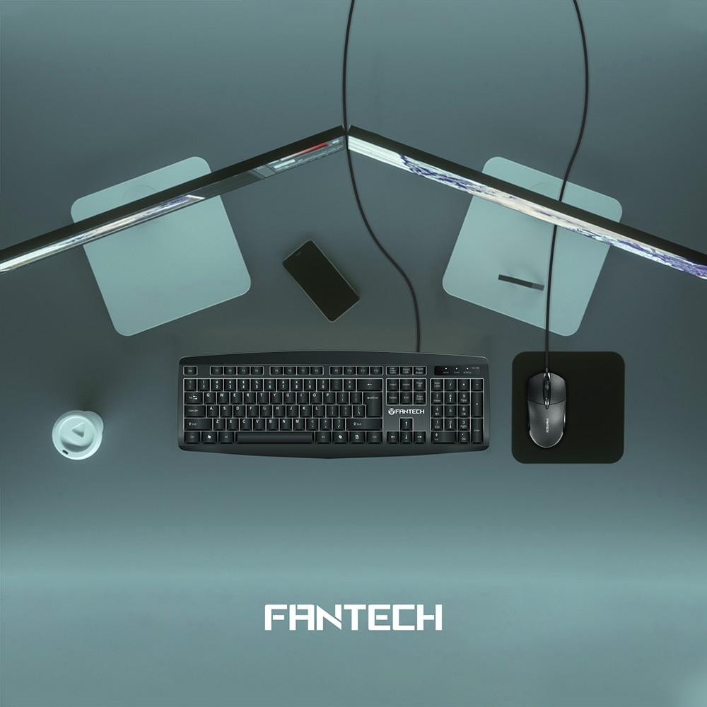 Fantech KM100 USB Keyboard Mouse Combo Black 5