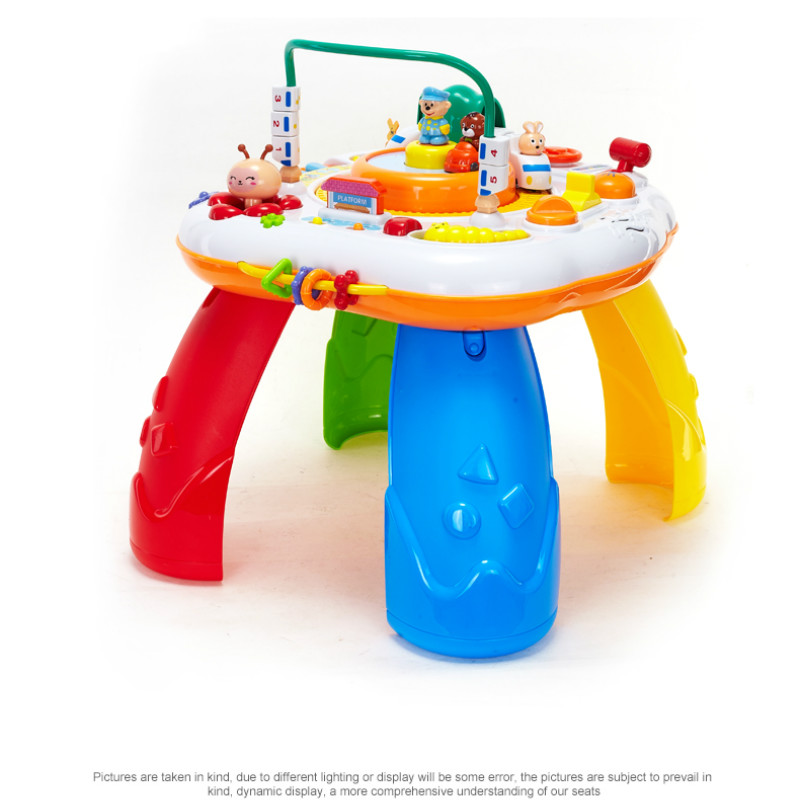 Multifunctional Baby Boy 6-12 Months 80-90 Baby Puzzle Game Table Toys
