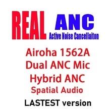 35dB ANC наушники-вкладыши TWS с Беспроводной Bluetooth наушники пространственной Audio In-ear светильник датчик наушники прозрачный Qi Беспроводная заря...
