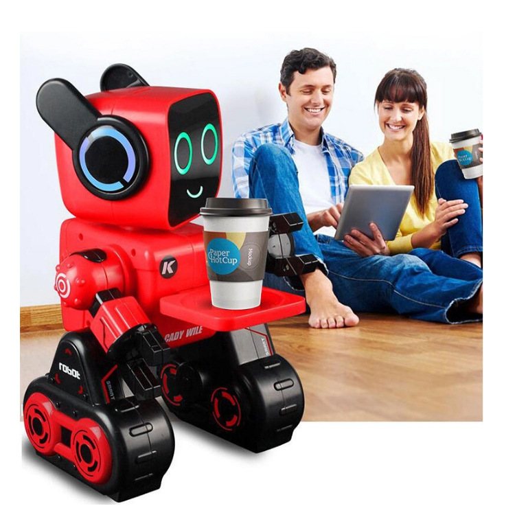 K3 Smart Children Toy Robot People Voice Interactive Dancing Singing Remote Control Educational CHILDREN'S Toy